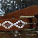 cinturon carpincho con bordado