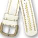 cinturones cuero crudo