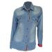 camisa dama jean lavado