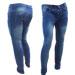 jeans localizado arrugas