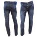 jeans localizado rayado
