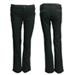 Pantalon negro recto tachas redondeadas