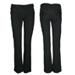 Pantalon gris oscuro recto